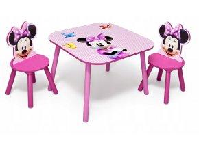 Dětský stůl s židlemi MINNIE MOUSE 03