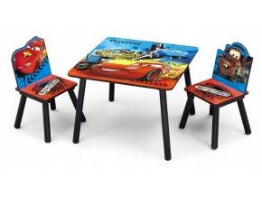 Dětský stůl s židlemi CARS AUTA 01