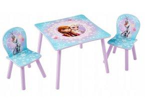 Dětský stůl s židlemi FROZEN 01