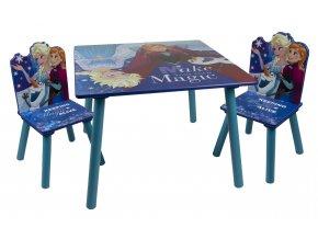 Dětský stůl s židlemi FROZEN 02