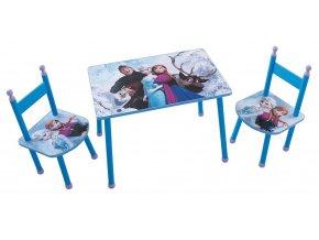 Dětský stůl s židlemi FROZEN 03