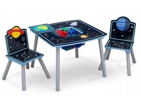 Dětský stůl s židlemi ASTRONAUT