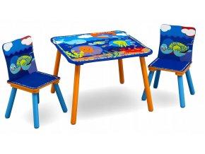 Dětský stůl s židlemiOCEÁN