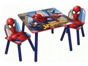 Dětský stůl s židlemi SPIDERMAN