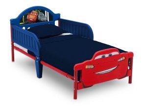 Plastová postel Disney Auta Cars 3D 140x70 cm