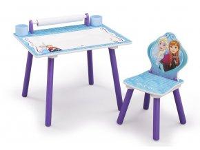 Dětský kreslící stůl Ledové království Frozen