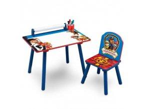 Dětský kreslící stůl Paw Patrol