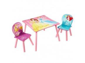 Dětský stůl s židlemi PRINCESS 03