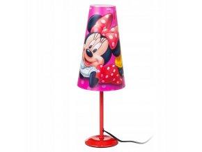 Stolní lampička Myška Minnie Růžová