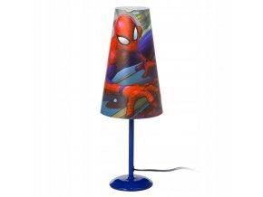 Stolní lampička Spider-Man Modrá