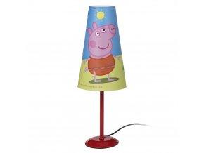 Stolní lampička Peppa Pig Červená