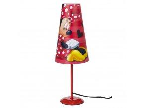 Stolní lampička Myška MinnieČervená