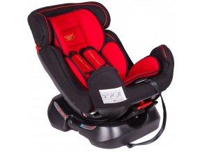 Autosedačka BABY COMFORT 0-25 kg Červená