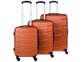 Cestovní Kufr ACAPULCO - Oranžový