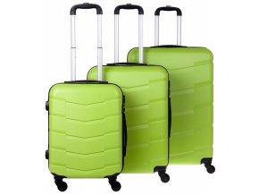 Cestovní Kufr ACAPULCO - Zelený