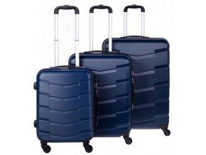 Cestovní Kufr ACAPULCO - Tmavě Modrý
