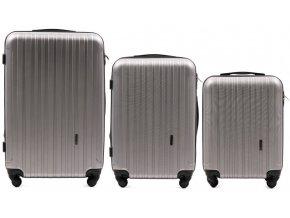 Cestovní Kufr ACE - Stříbrný 2