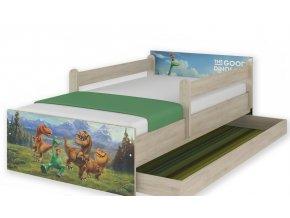 Dětská postel disney dinosauři 160x80cm výprodej