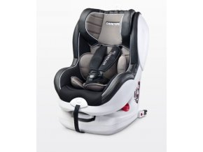 Autosedačka CARE DEFENDER PLUS ISOFIX 0-18 kg Grafitová