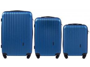 Cestovní Kufr ACE - Modrý 2