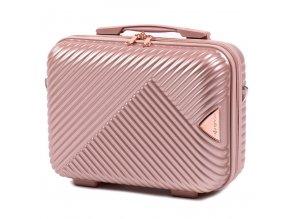 Cestovní Kosmetický Kufřík ADORE - Rose Gold