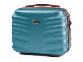 Cestovní Kosmetický Kufřík ADAMANT - Modrý
