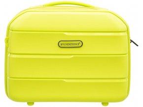 Cestovní Kosmetický Kufřík BAHAMAS - Světle Zelený