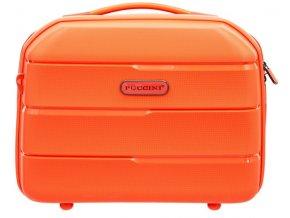 Cestovní Kosmetický Kufřík BAHAMAS - Oranžový