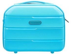 Cestovní Kosmetický Kufřík BAHAMAS - Modrý