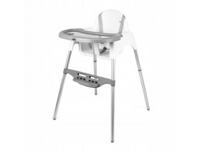 Jídelní židlička SAPPHIRE Bílá