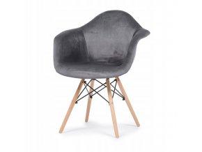 Designová židle RIVA 2 Šedá
