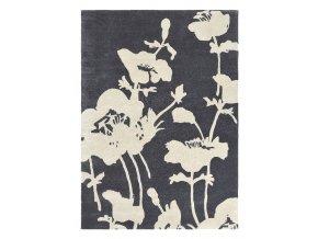 FB Floral 300 Charcoal 039604