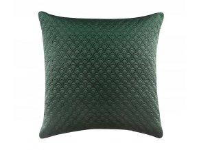 Povlak na polštář NOVELTY 45x45 cm tmavě zelená