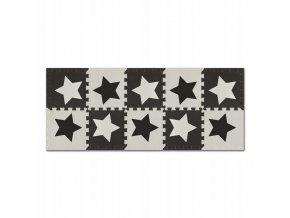 Pěnové puzzle 10 ks 150x60x1 cm hvězdička