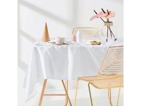 Ubrus na stůl AURA 110x160 bílý
