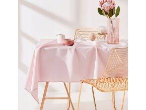 Ubrus na stůl AURA 110x160 růžový