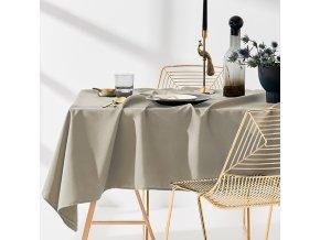 Ubrus na stůl AURA 110x160 béžový