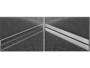 Odtokový sprchový žlab MEXEN NEO WALL 2v1