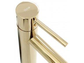 Umyvadlová baterie TESS vysoká zlatá