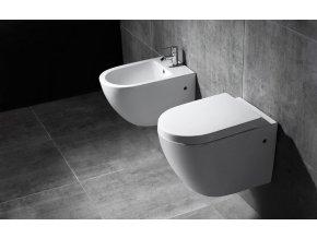 Závěsné WC CARLO MINI RIMLESS