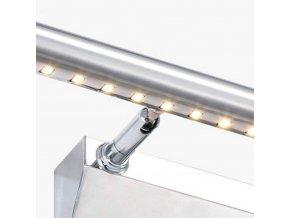Nástěnné LED svítidlo nad zrcadlo ISLA - 40 cm - 5W - chromové