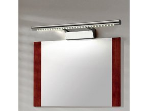 Nástěnné LED svítidlo nad zrcadlo ISLA - 70 cm - 9W - chromové