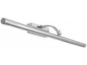 Nástěnné LED svítidlo nad zrcadlo DIVIO REA AZZA - 55 cm - 7W - chromové