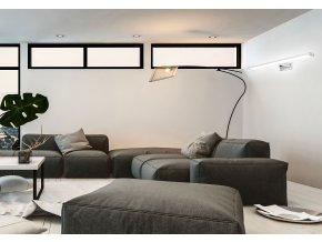 Nástěnné LED svítidlo nad zrcadlo GAUDI - 60 cm - 12W - chromové