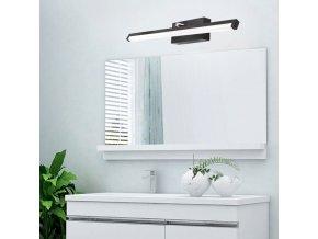 Nástěnné LED svítidlo nad zrcadloDEGAS - 50 cm - 12W - černé