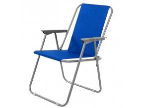 Campingová židle HUNTER - modrá