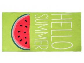 Plážová osuška HELLO SUMMER 170x87 cm