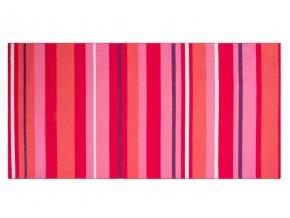 Plážová osuška RED STRIPES 170x87 cm