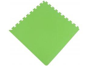 Pěnový koberec MAXI COLOR 1 ks 62x62x1 cm jarní zelená