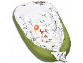 Oboustranné hnízdečko - kokon pro miminko, vzor 650